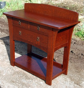 Voorhees Craftsman accurate replica of the rare Limbert sideboard server